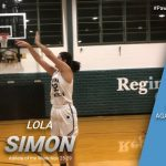 Lola Simon Named Athlete of the Week for the Week of Nov. 23-28