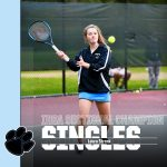 Laura Strenk Wins IHSA Tennis Sectional