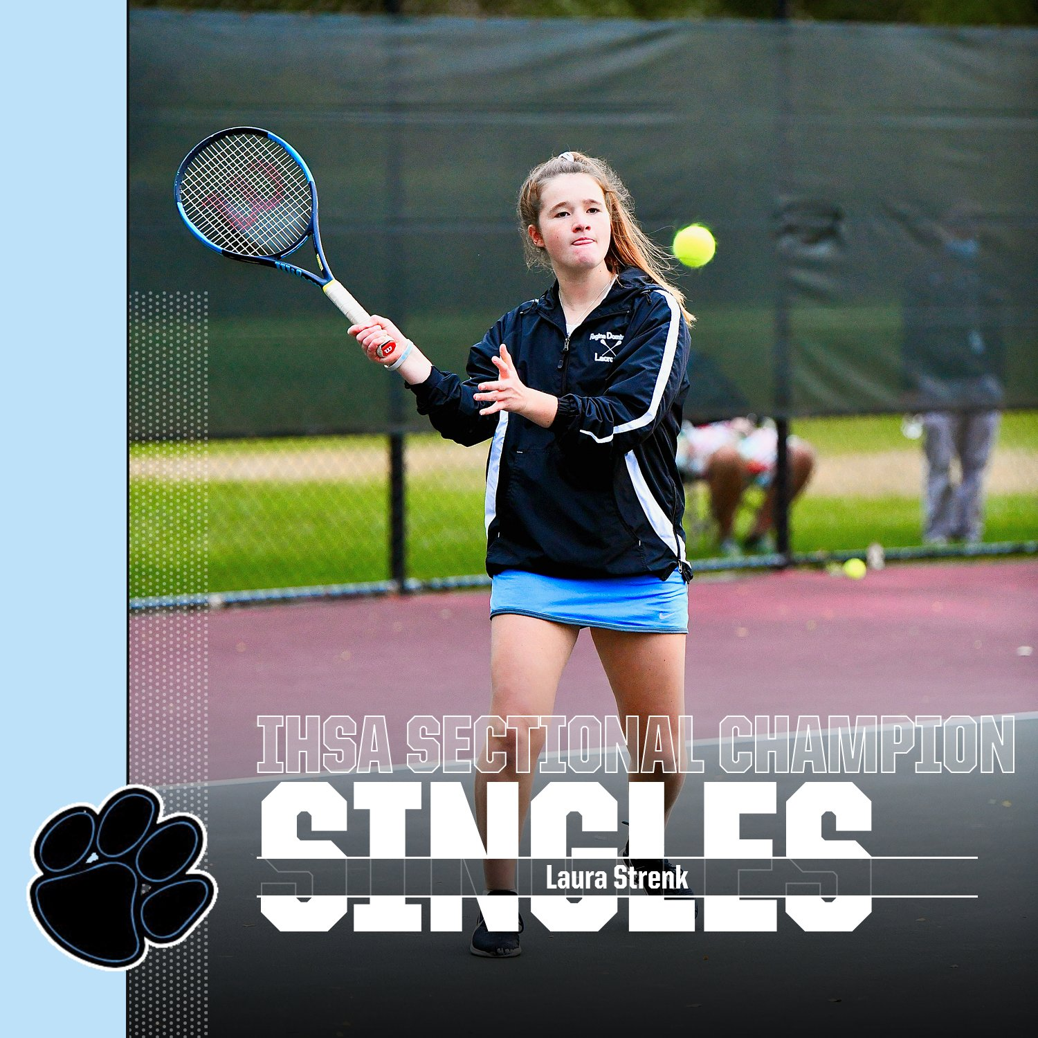 Laura Strenk Named Athlete of the Week for the Week of Oct. 19-24