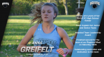 Anna Greifelt Named Athlete of the Week for the Week of October 26-31