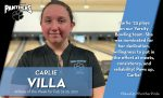 Carlie Villa Named Athlete of the Week