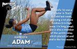 Haneefa Adam Named Athlete of the Week for the Week of May 3-8