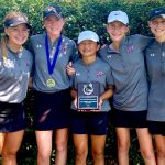 Girls Varsity Golf finishes 3rd place at Lady Patriot