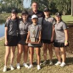 Girls Varsity Golf finishes 1st place at Region Championship!