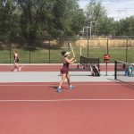 Girls Varsity Tennis falls to Bingham
