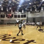 Girls Sophomore Volleyball falls to West 3 – 2
