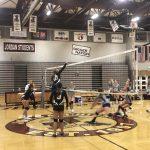 Girls Freshman Volleyball falls to Hunter