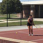 Girls Varsity Tennis falls vs West