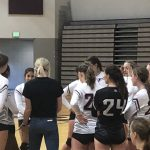 Girls Freshman Volleyball falls to Brighton 2 – 0