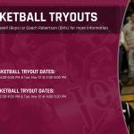 Basketball Tryouts Dates & Times