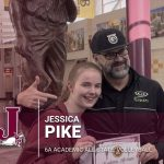 Jessica Pike receives Academic All-State