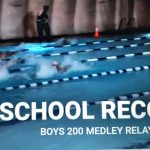 Boys Swimming Sets School Record