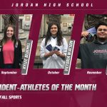 JHS Student-Athletes of the Month (Fall)