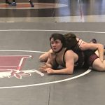 Varsity Wrestling falls to Woods Cross