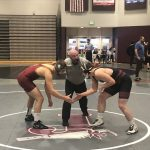 Varsity Wrestling falls to Viewmont