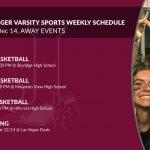 Beetdigger Athletics Away Events Dec 9-14