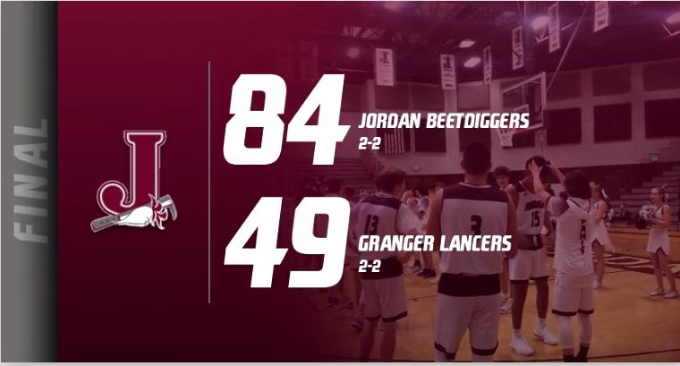 Jordan 84, Granger 49