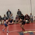 Varsity Wrestling falls to Farmington 64 – 18