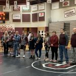 Varsity Wrestling falls to West 42 – 36