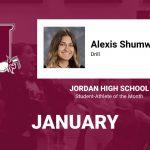 Jordan AOTM, January: Alexis Shumway