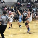 Girls Varsity Basketball falls to Riverton 47 – 38