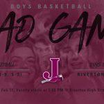 Boys Basketball @ Riverton, 5pm