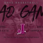 Boys Basketball at Copper Hills