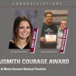 Moss & Maiva Awarded Naismith Courage Award