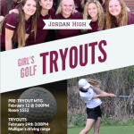 Girls Golf: Tryouts Feb 24