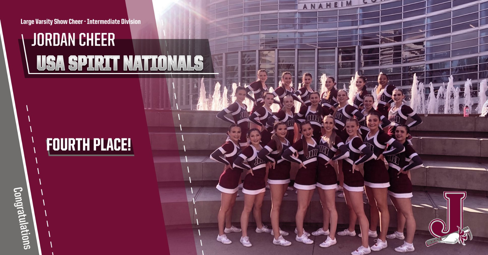 Cheer Places 4th at Nationals!