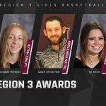 Girls Basketball: 4 Diggers Honored, Robertson Named Region 3 Coach of Year