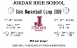 Girls Basketball Camp Registration Open