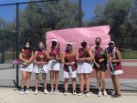 Girls Varsity Tennis falls to Herriman on Senior Day