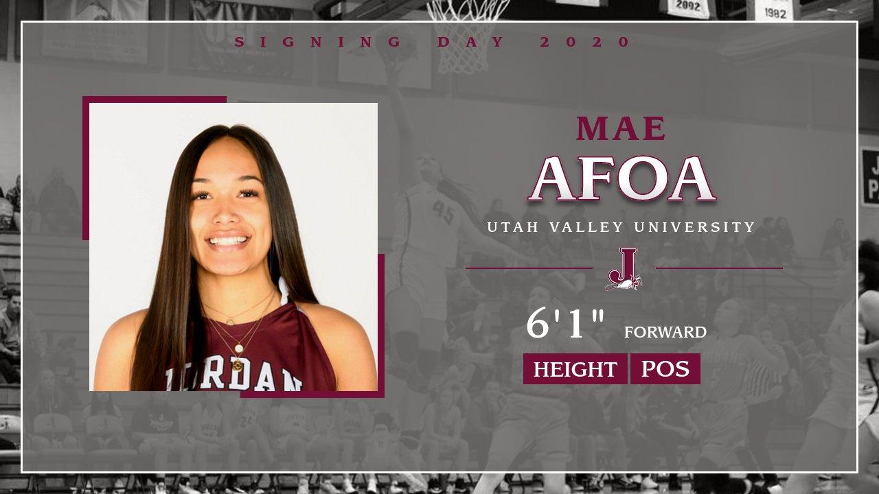 Girls Basketball: Mae Afoa Signing with Utah Valley University