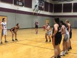 Girls Sophomore Basketball beats Brighton 36 – 28