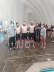 Tue Jan 19: Boys Swimming Beats Judge on Senior Day