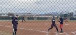 Girls Varsity Softball beats Brighton 22 – 12