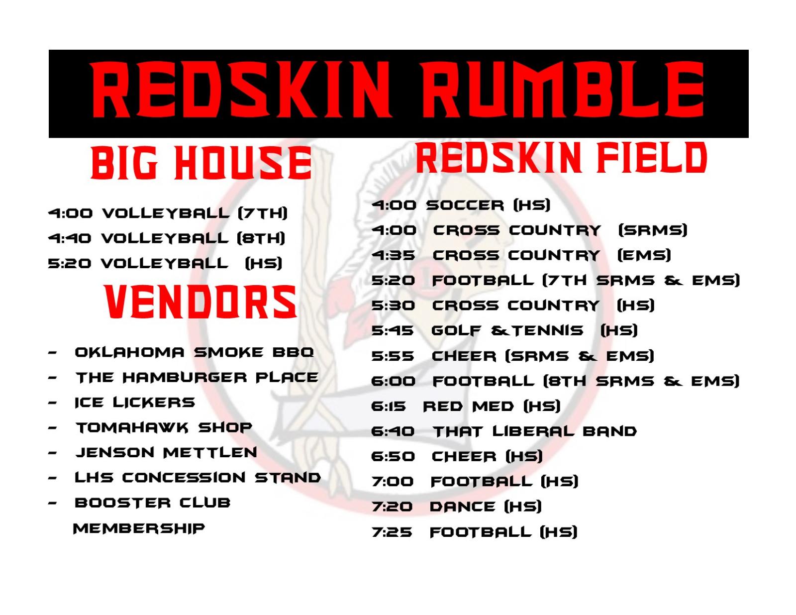 Redskin Rumble 8/29