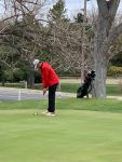 Gilmore finishes in top 10 at Hays Golf Invitational