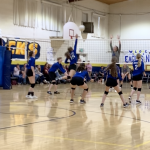 Cougars Take Control of Pioneer League With 5 Set Victory at ACA