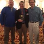 Zuber Named Assistant Wrestling Coach of the Year in Indiana