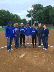 2016 Softball Senior Night