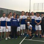 Memorial High School Boys Varsity Tennis beat Evansville North High School 5-0