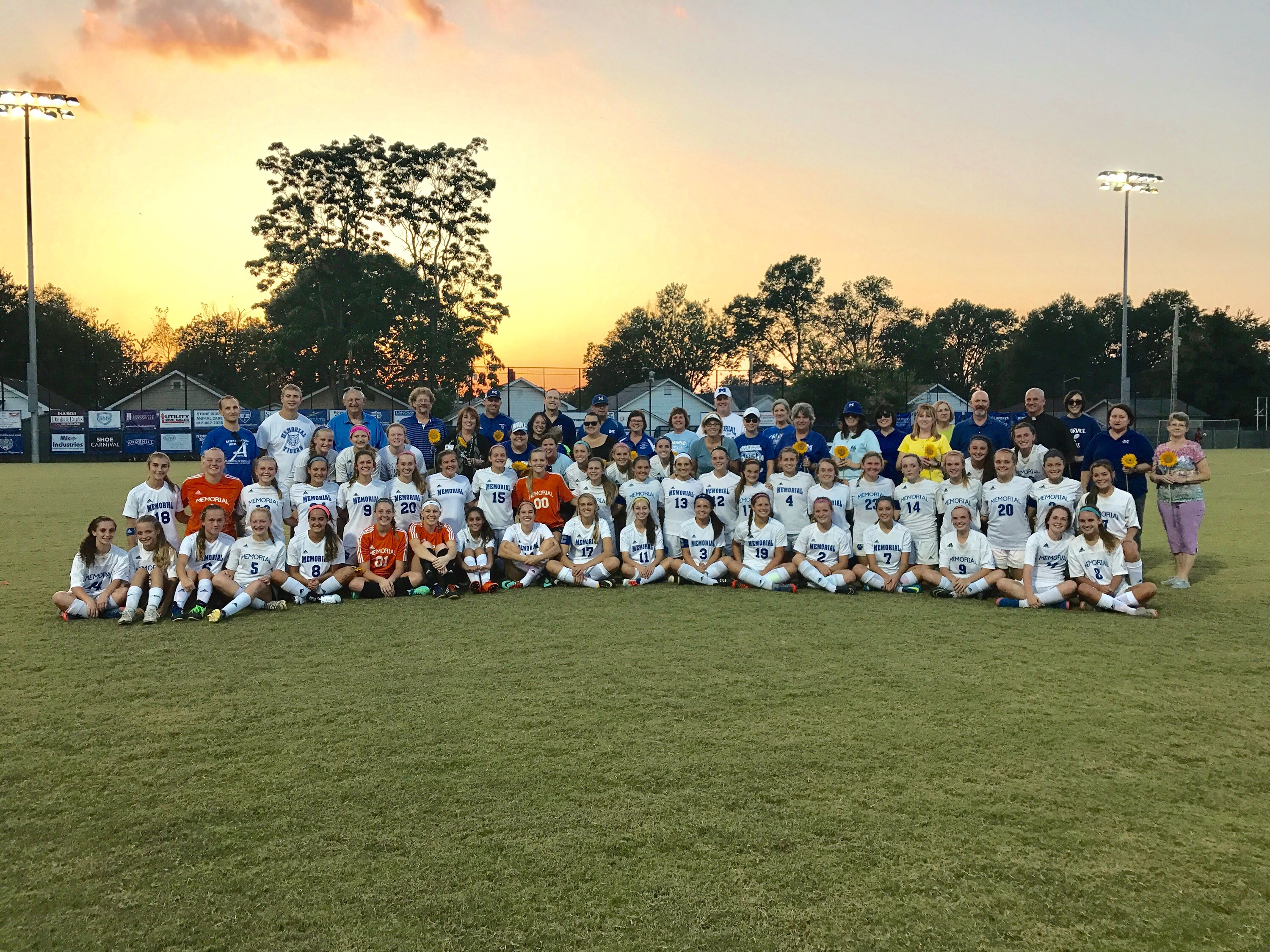 Girls Soccer hosts Faculty/Staff Appreciation Night at Traylor Family Stadium