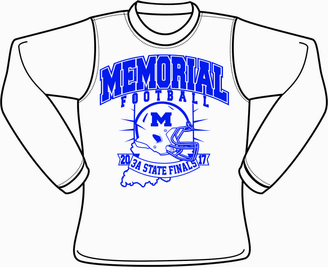 Memorial Football State Finals Fan Shirt ON SALE Now!