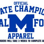 Memorial Football State Championship Gear ON SALE