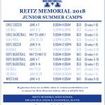2018 Memorial Athletics Summer Camp Registration