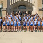 2018 Lady Tiger Track and Field Team Picture