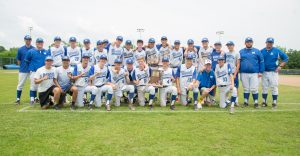 2018 Baseball Sectional Championship Celebration