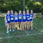 Girls Varsity Cross Country finishes 2nd and the Boys finish 4th the Pike Central Invitational
